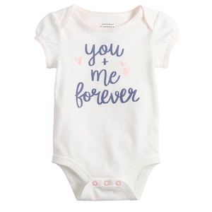 NWT You & Me Forever Bodysuit, Size 9 months